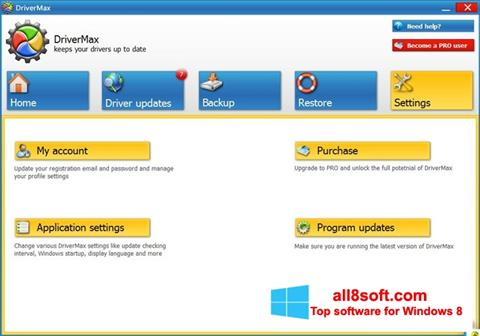 Screenshot DriverMax for Windows 8