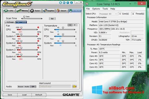 Screenshot EasyTune for Windows 8