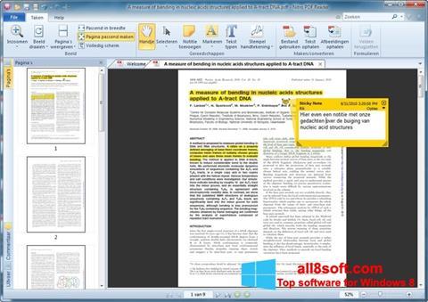 Screenshot Nitro PDF Reader for Windows 8