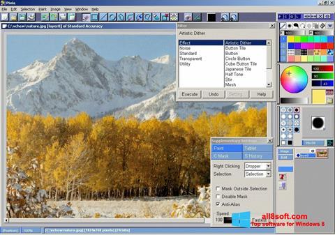 Screenshot Pixia for Windows 8