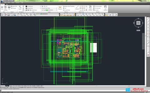 Screenshot DWG TrueView for Windows 8