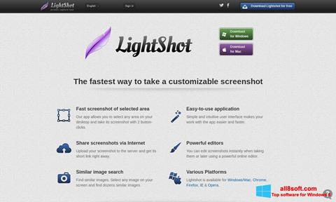 Screenshot LightShot for Windows 8