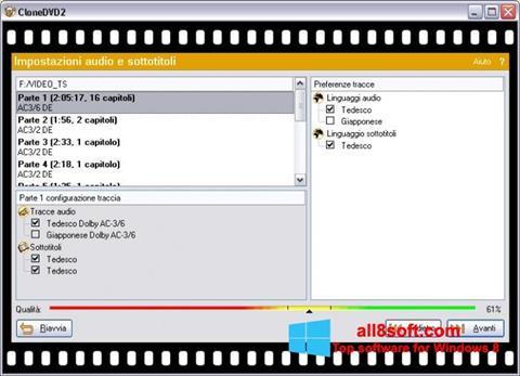 Screenshot CloneDVD for Windows 8