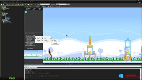Screenshot GameMaker: Studio for Windows 8