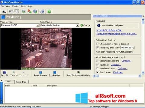Screenshot WebCam Monitor for Windows 8