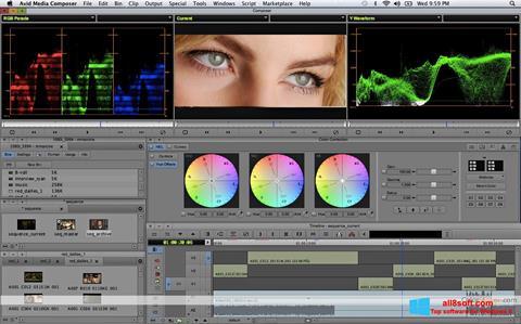 Screenshot Avid Media Composer for Windows 8