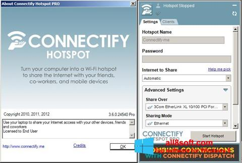 Screenshot Connectify Pro for Windows 8