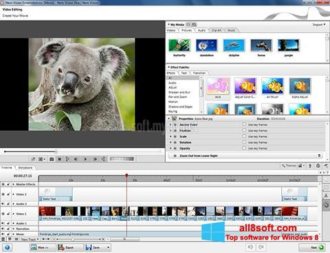 Screenshot Nero Vision for Windows 8
