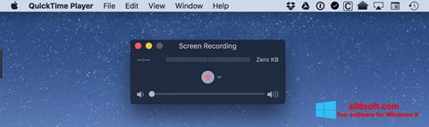 Screenshot QuickTime for Windows 8