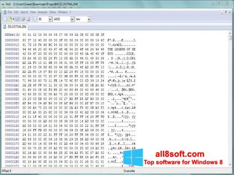 Download HxD Hex Editor for Windows 8 (32/64 bit) in English