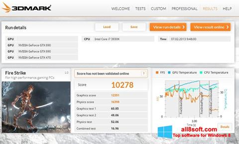 Screenshot 3DMark for Windows 8