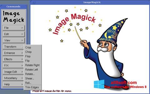 Screenshot ImageMagick for Windows 8