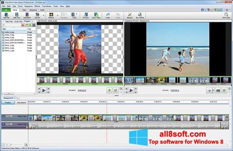 Screenshot VideoPad Video Editor for Windows 8