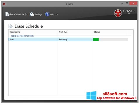 Screenshot Eraser for Windows 8
