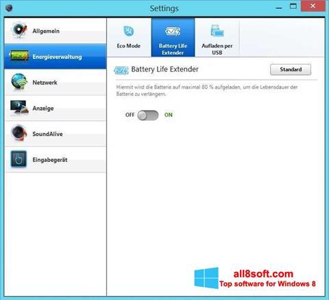 Screenshot Easy Settings for Windows 8