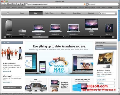Screenshot Safari for Windows 8