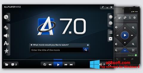 Screenshot ALLPlayer for Windows 8