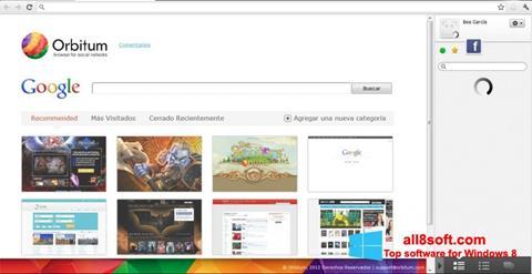 Screenshot Orbitum for Windows 8