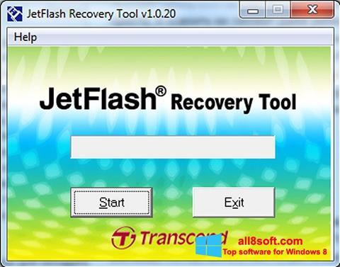 Screenshot JetFlash Recovery Tool for Windows 8