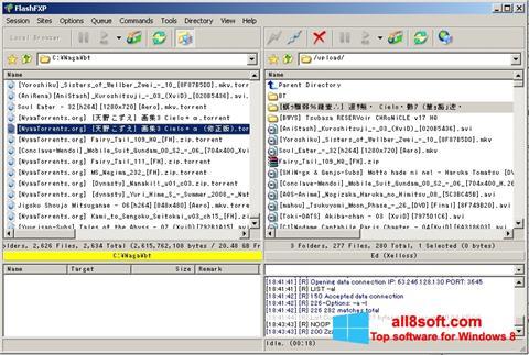 Screenshot FlashFXP for Windows 8