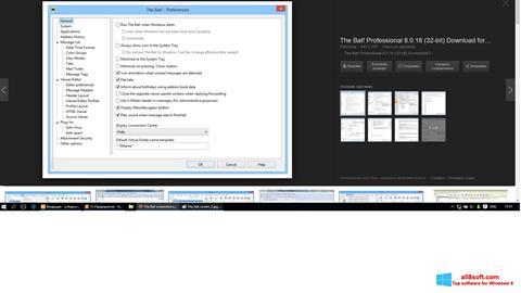 Screenshot The Bat! for Windows 8