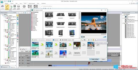 Screenshot VSDC Free Video Editor for Windows 8