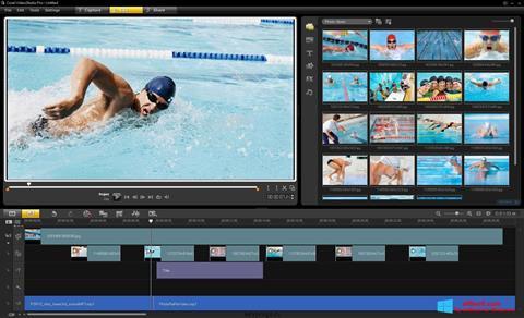 Screenshot Corel VideoStudio for Windows 8