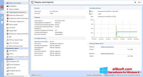 Screenshot Kerio Control for Windows 8