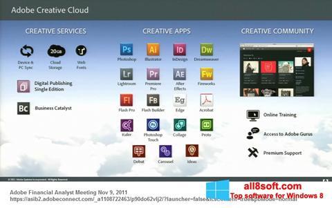 Screenshot Adobe Creative Cloud for Windows 8