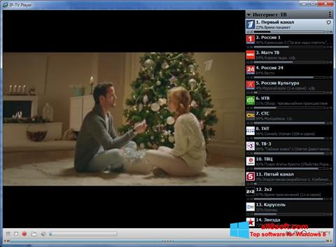 Screenshot IP-TV Player for Windows 8