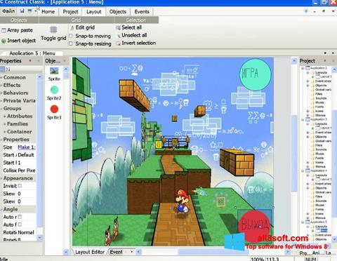 Screenshot Construct Classic for Windows 8