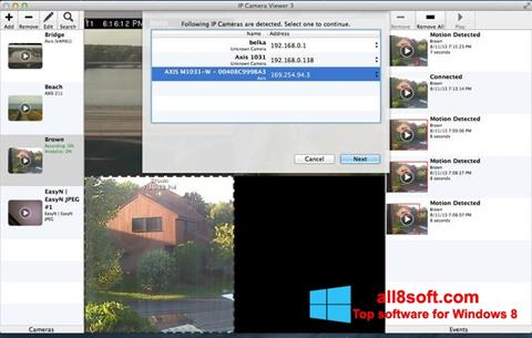 Screenshot IP Camera Viewer for Windows 8