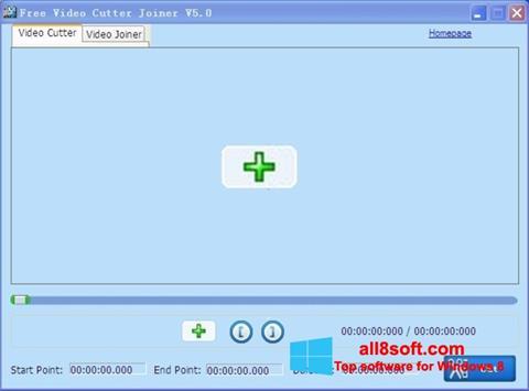 Screenshot Free Video Cutter for Windows 8