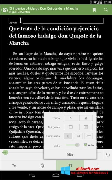 Screenshot BookReader for Windows 8