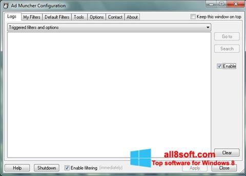 Screenshot Ad Muncher for Windows 8