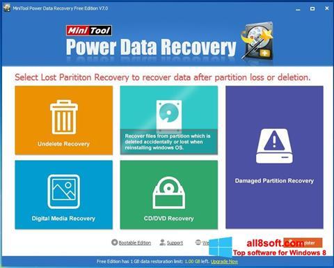 Screenshot Power Data Recovery for Windows 8