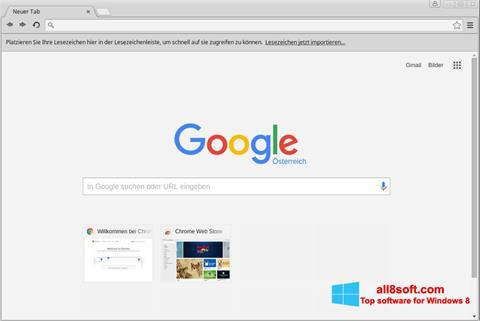 Screenshot Google Chrome for Windows 8