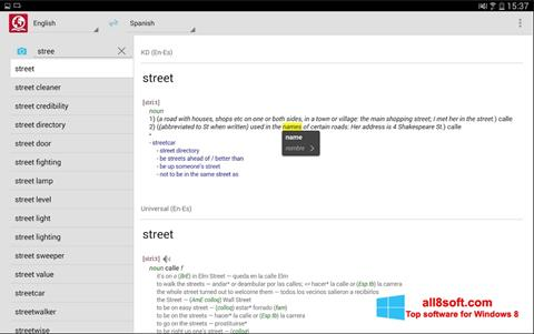 Screenshot ABBYY Lingvo for Windows 8