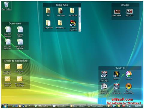 Screenshot Fences for Windows 8