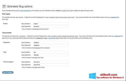Screenshot QTranslate for Windows 8