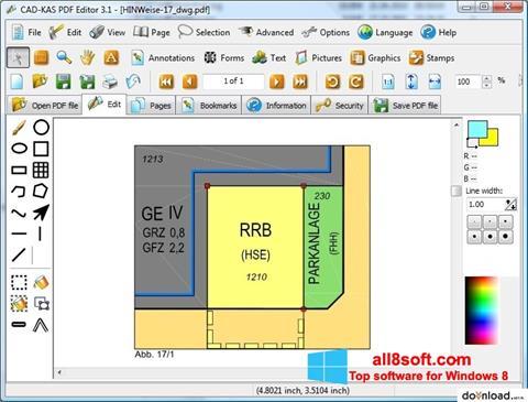 Screenshot PDF Reader for Windows 8