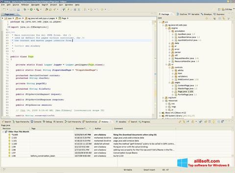 Screenshot Eclipse for Windows 8