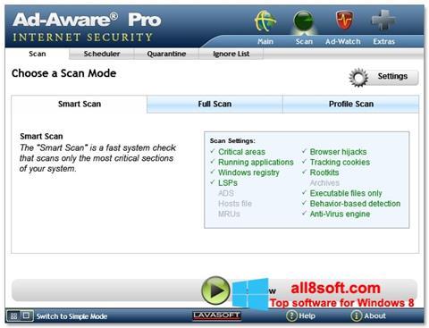 Screenshot Ad-Aware for Windows 8