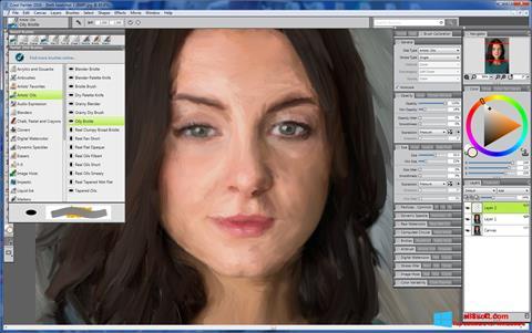 Screenshot Corel Painter for Windows 8