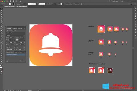 Screenshot Adobe Illustrator CC for Windows 8