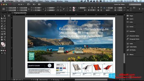 Screenshot Adobe InDesign for Windows 8