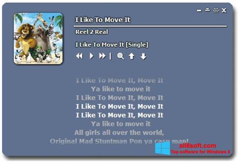 Screenshot Minilyrics for Windows 8