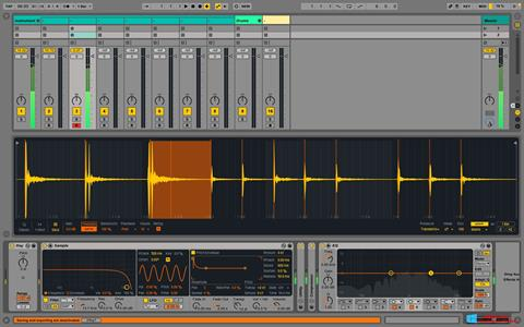 Screenshot Ableton Live for Windows 8